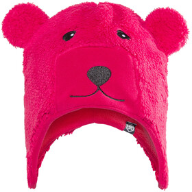 Color Kids Kippo Fleece Hat Kids Rasberry